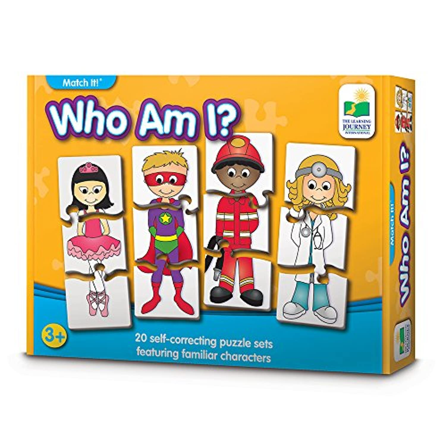 The Learning Journey Match It 。Who Am I ?