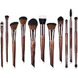Ruikey メイクブラシ 11本セット 化粧筆 多機能化粧 人気 メイク道具(化妆道具) ふわふわ(蓬松)肌に優しい 毛量たっぷり プレゼント