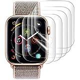 『改善版全面保護』AUNEOS Apple Watch Series 4 フィルム Apple Watch 保護フィルム TPU製 高透過率 耐指紋 24時間内気泡自動消え アップルウォッチ フィルム (Series 4, 44mm 5枚)