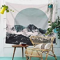 タペストリー、シーツブランケットマウンテンフォレストタペストリー布ポリエステル壁掛けプリントタオルホーム壁の装飾の壁の壁のベッドルームの居間の布 (Color : 006, Size : 150cm*100cm)