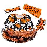 青空販売 0-2歳 ベビー ハロウィンの仮装や衣装 コスチューム 4点セット (02, 59(0-3ヶ月))