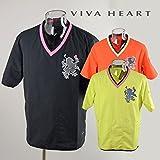 (ビバハート) VIVA HEART メンズ 半袖ブルゾン 011-58340 M(48) 21(黄緑)