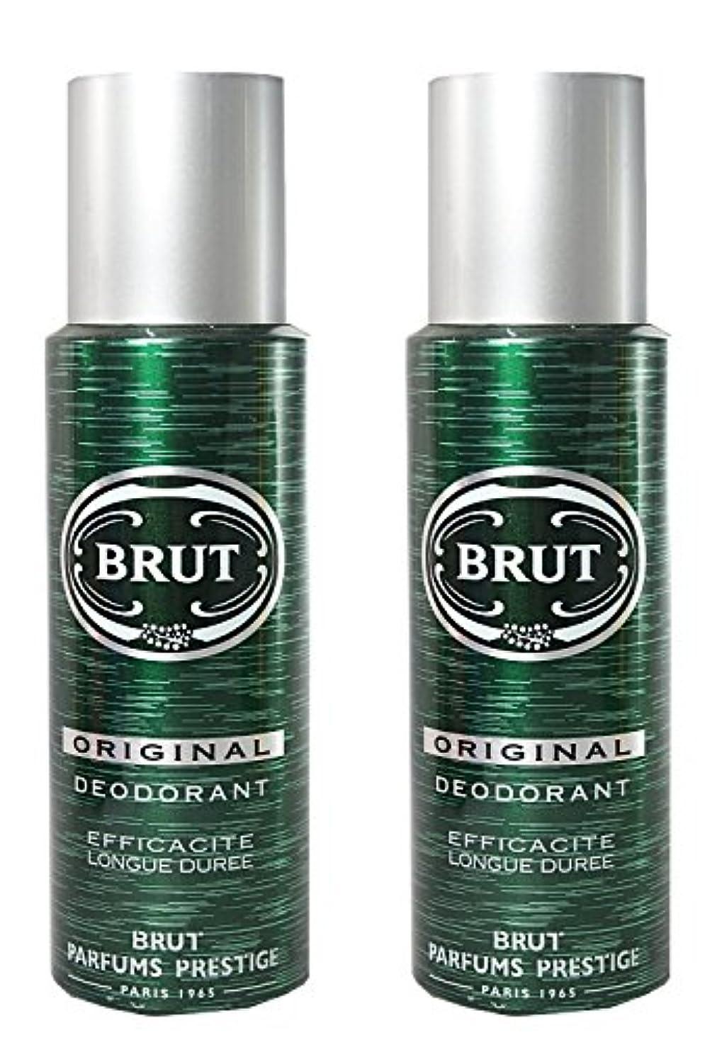 価格カビベテランBRUT Original Deodorant Spray For Men, 200ml (Pack of 2)