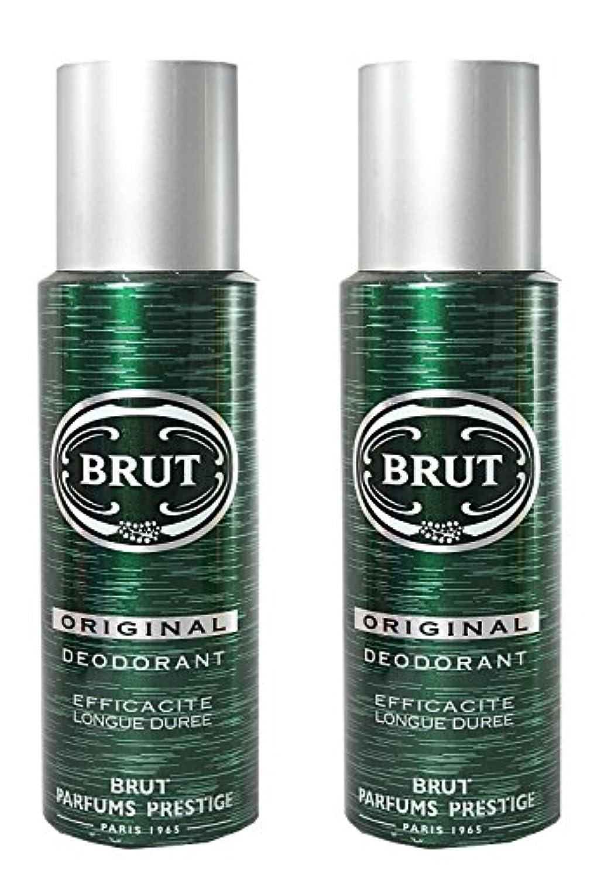 擁するヒール敬なBRUT Original Deodorant Spray For Men, 200ml (Pack of 2)