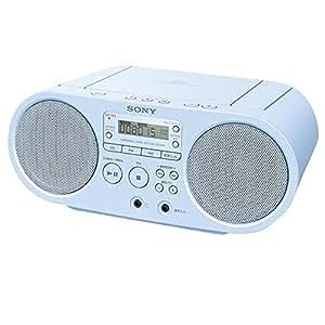 ソニー CD対応ラジオ(ブルー)SONY ZS-S40-L