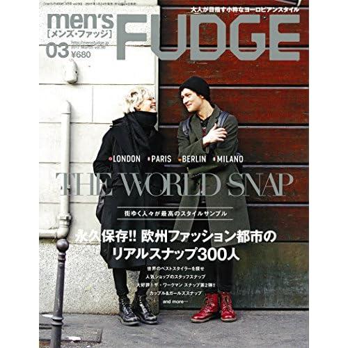 men'sFUDGE 2017年3月号 [雑誌] (メンズファッジ)