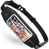 ランニング ポーチ ウエストポーチ スマホ iPhone ウォーキング ジョギング マラソン ペットボトル planetcord 大容量 防水 指紋認証対応 2way フィット感抜群 5.7インチ 2019年版