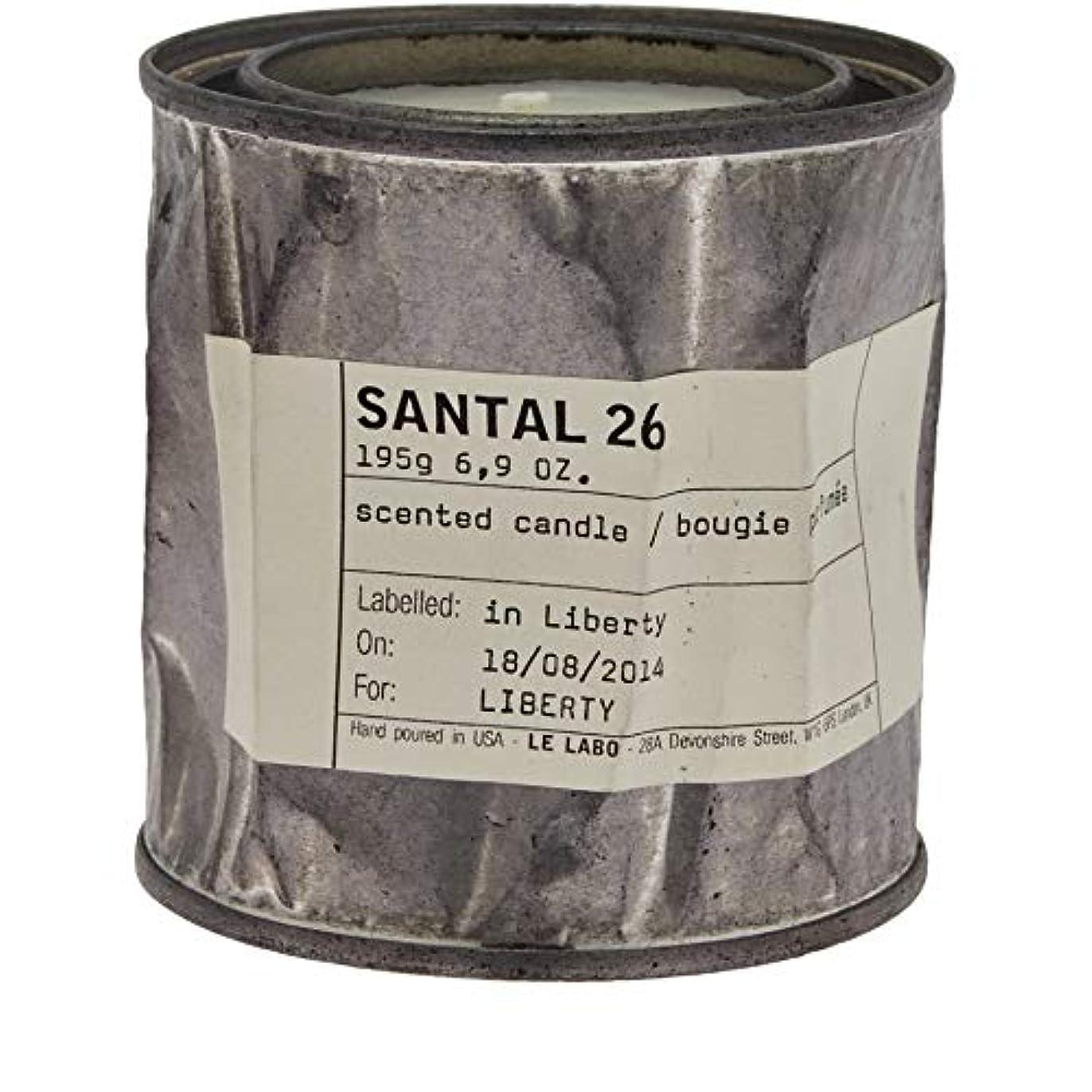 太い時系列り[Le Labo ] ルラボサンタル26ヴィンテージキャンドル - Le Labo Santal 26 Vintage Candle [並行輸入品]