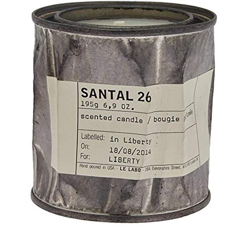 独立したフィヨルドハンディキャップ[Le Labo ] ルラボサンタル26ヴィンテージキャンドル - Le Labo Santal 26 Vintage Candle [並行輸入品]