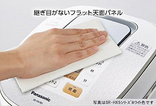 パナソニック 1升 炊飯器 IH式 ホワイト SR-HB186-W