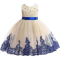 AIMJCHLD 2-9 Years Elegant Flower Girl Dress, Party Pageant Dresses