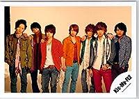 Kis-My-FT2・【公式写真】・・ 集合・✩ ジャニーズ公式 生真【スリーブ付】 su 110