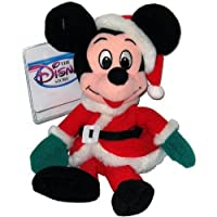 Mickey Santa 1997 - Disney Mini Bean Bag Plush by Disney