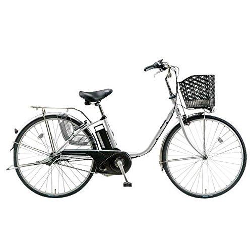 パナソニックサイクルテック 24型電動アシスト自転車 ビビ・TX モダンシルバー BE-ENTX432S