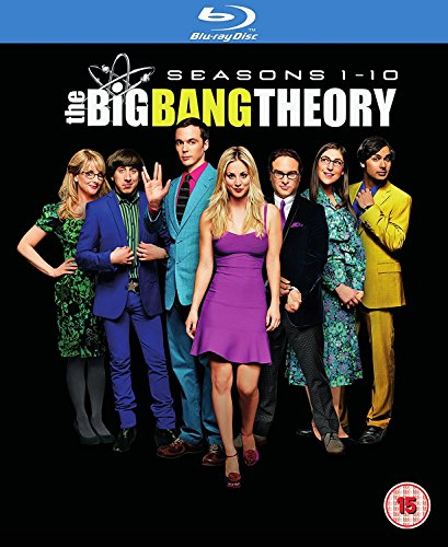 The Big Bang Theory Season 1-10 [Blu-ray Region free 日本語無し](Import版)