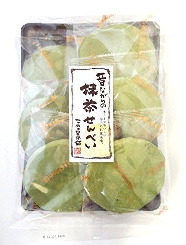 こめの里本舗 抹茶煎餅 7枚×5袋