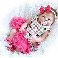 NPK 50 cm Full Body Silicone Lifelike Reborn Baby Doll Girl 20
