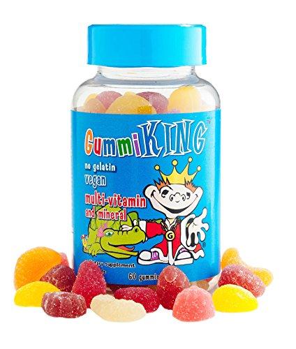 KingMultivitamin and Mineral Supplement, Strawberry Lemon Orange Grape Cherry Grapefruit, 60 Co...