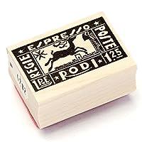 100 Proof Press ラバースタンプ 切手/イタリア(エスプレッソ) #4782
