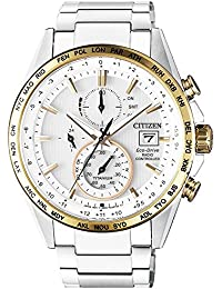 [シチズン]CITIZEN エコドライブ ソーラー 電波腕時計 オールチタン サファイアガラス AT8156-87A メンズ [逆輸入品]