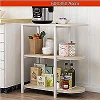 ダイニング・キッチン家具 シンプルな近代的な電子レンジラックオーブンラック台所用品ラックの収納ラック
