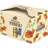 サッポロ ヱビスビール ギフトBOX(金魚) 350ml×6本