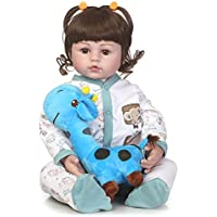 SanyDoll Rebornベビー人形ソフトSilicone 22インチ55 cm磁気Lovely Lifelike Cute Lovely Baby b0763lpd1 K