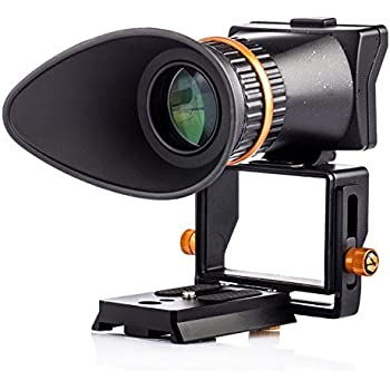 TARION TR-V2 液晶 ビューファインダー ルーペ2.5倍 視度調節可 デジタル 一眼レフ ミラーレス 写真 ムービー撮影 ライブビュー撮影LCD viewfinder 3.2インチ Canon Nikon Sony Panasonic Pentaxに対応