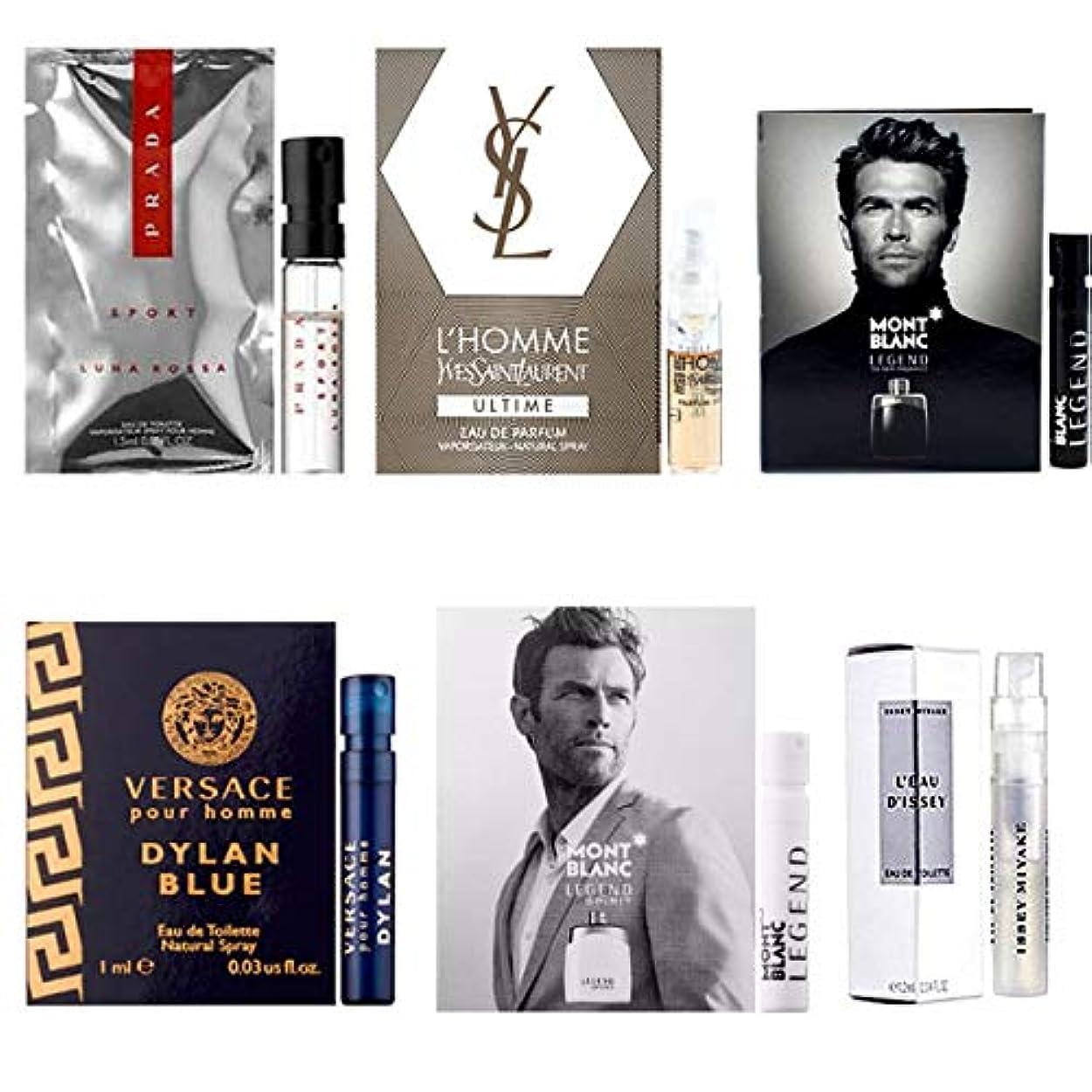 ドライバノミネートベット男性用 Eau de Parfum (Eau de Toilette) For Men Samples 6/set [海外直送品] [並行輸入品]