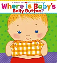 Where Is Baby's Belly Button? A Lift-the-Flap