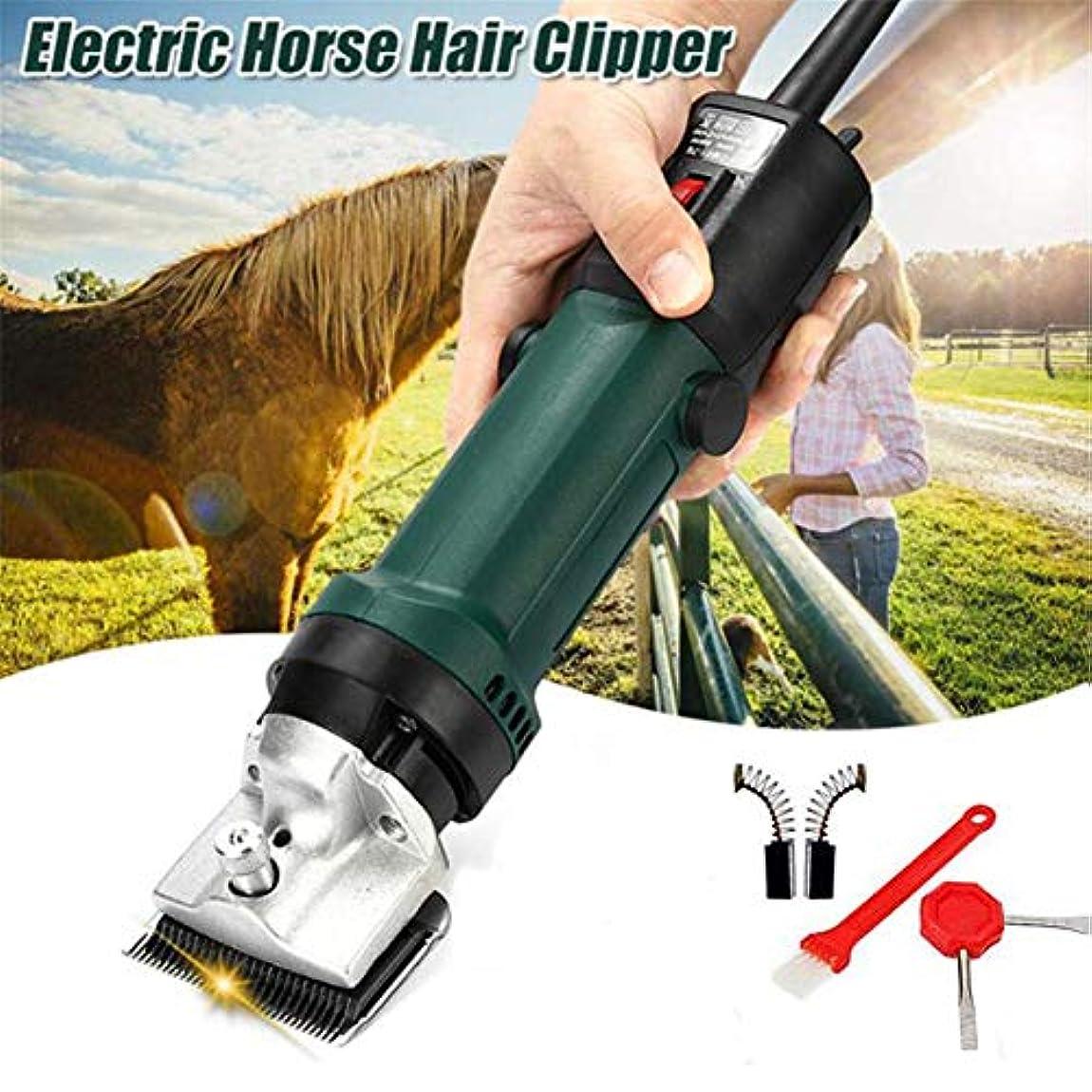専門の電気動物の馬のラクダ犬のせん断クリッパーペット毛のトリマー320Wの毛のシェーバーのせん断機械240V 2400r / min