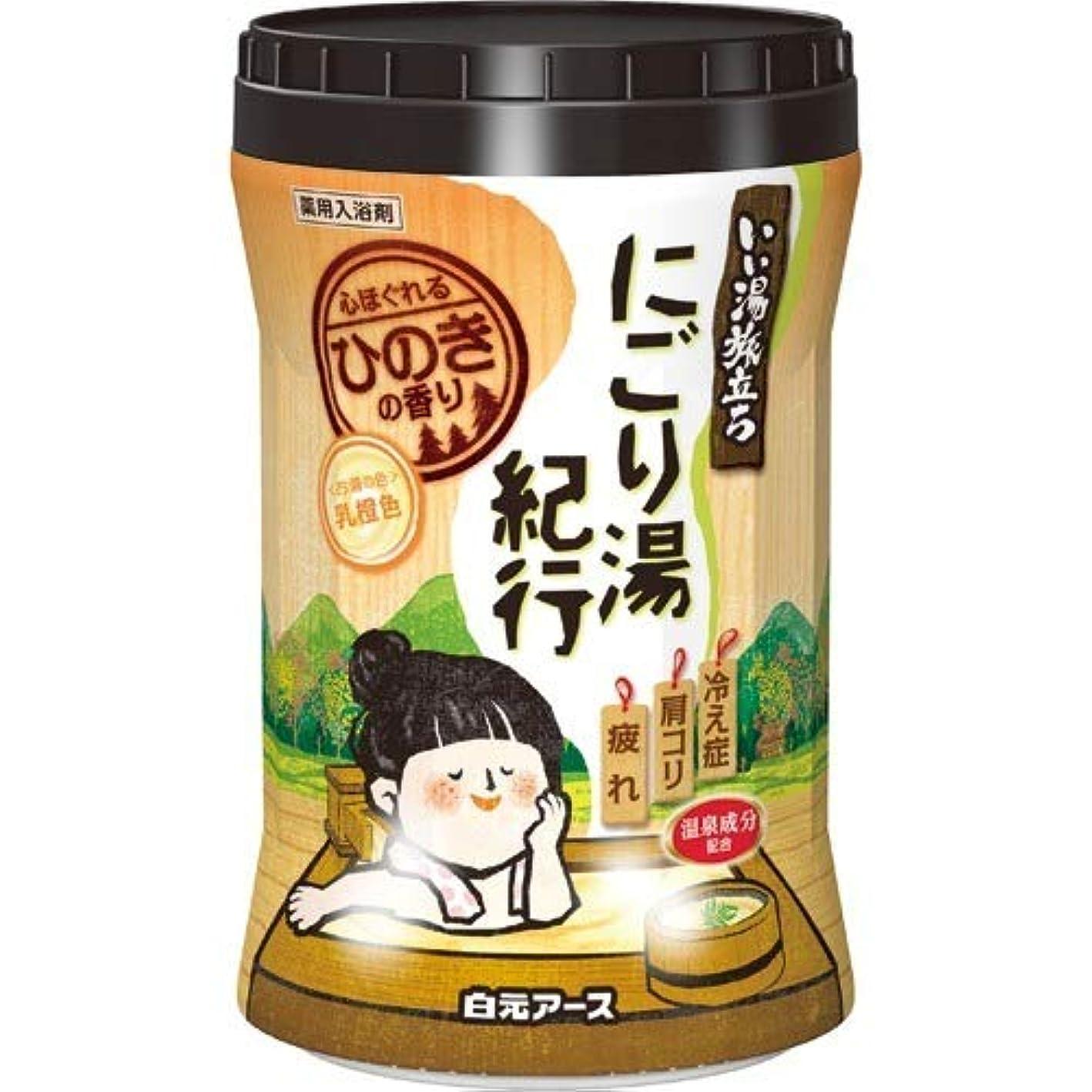 提供された複雑パンいい湯旅立ちボトルにごり湯紀行 ひのきの香り600g
