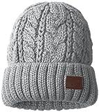 (ビラボン)BILLABONG [ ユニセックス ] ニット キャップ ( 単色 ソリッド カラー ) 【 AH012-937 / KNIT BEANIE 】 ビーニー 帽子 AH012-937 GRY GRY_グレー F