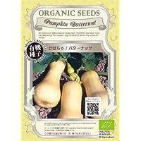 グリーンフィールド 野菜有機種子 かぼちゃ/バターナッツ [小袋] A066