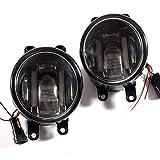 VULCANS トヨタ車用 プリウス ノア ヴォクシー エスティマ レクサス等 LEDフォグランプ デイライト内臓 CREE LED採用 ハイパワー 16W 熱対策済 純正交換 2個seT