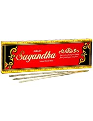Nikhil Sugandha Natural Incense - 2 Packs, 50 Grammes per Pack