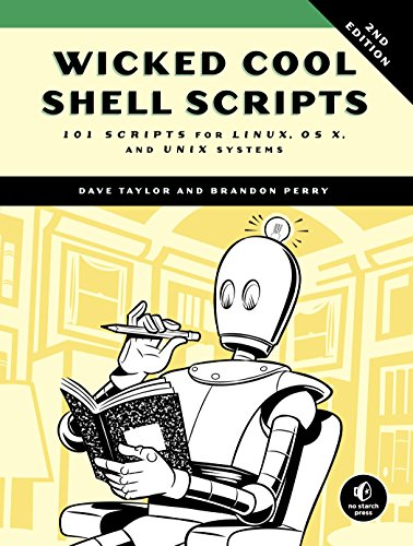Download Wicked Cool Shell Scripts: 101 Scripts for Linux, OS X, and UNIX Systems 1593276028