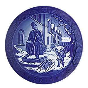 【送料無料祭】ロイヤルコペンハーゲン イヤープレート 2014年 1-190-114[並行輸入品]