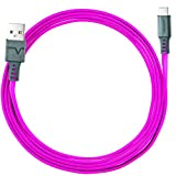 Ventev charge sync Type A C 2.0 Cable, Pink, 6ft