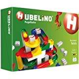 Hubelino Marble Run - 123-Piece Basic Building Box - The Original! Made in Germany! - Certified and Award-Winning Marble Run
