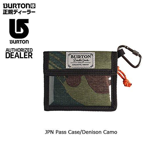 (バートン)BURTON 2016年モデル パスケース JPN Pass Case/Denison Camo/日本正規品 b04-16-191