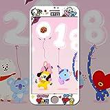 Best iPhone 6スクリーンプロテクター - BT21 iPhone 携帯電話の保護膜 Btsスクリーンプロテクター携帯電話は、iPhone 8、7、iPhone 6S、iPhone 6を保護する Review