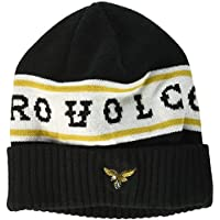 【VOLCOM】ボルコム2016秋冬 HIGH TRACK BEANIE メンズニット帽 ビーニー アンチヒーロー アンタイ ヒーロー ANTI HERO コラボ 帽子 BLK Onesize