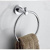 家庭の照明- 現代のミニマリストのファッションタオルリングタオルラック浴室付属品錆びていません