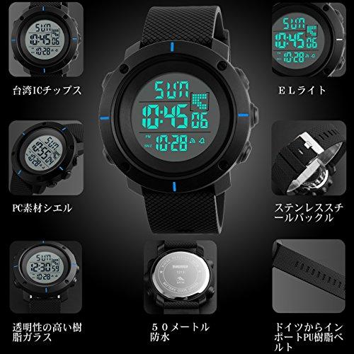5e60e9672b 機能:ELバックライト、目覚まし時計、時間/曜日/日付表示、自動更新カレンダー、ストップウォッチ、12/24時間制、1/100秒クロノグラフ、ダブルタイマー、スプリット  ...
