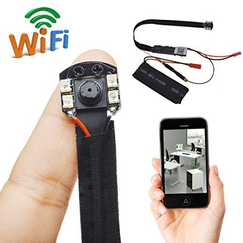 SilverSea™ 1080PフルHD隠しカメラ高解像度 高画質 WIFIネッ・・・