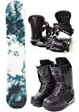 ZUMA (ツマ) スノーボード メンズ 3点セット 板 バインディング ブーツ メンズ FANTAS zuma-set-f-150-ML-270