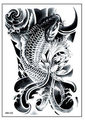 【y's partners】目立つ タトゥーシール デザイン重視 大きめサイズ リアル大判 高品質 長持ち 刺青シール ...