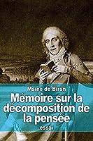 Mémoire Sur La Décomposition De La Pensée