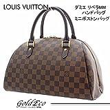 LOUIS VUITTON (ルイヴィトン) ダミエ リベラMM ハンドバッグ ミニ ボストンバッグ N41434エベヌ ブラウン レディース LOUIS VUITTON (ルイヴィトン)(中古)